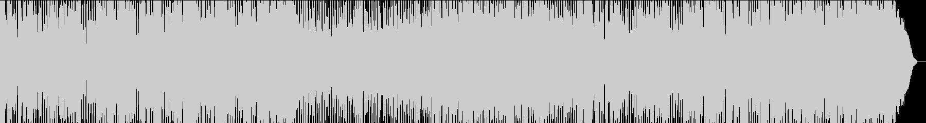 ハーモニカとマンドリンの軽快なポップスの未再生の波形