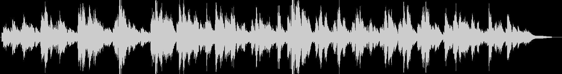 あたたかく優しい日常系ピアノソロ・ワルツの未再生の波形