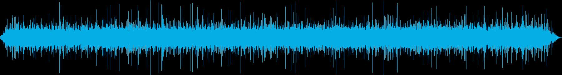 【自然音】湧水01(丹沢湖)の再生済みの波形