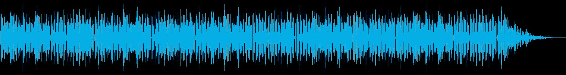 GB風レースゲームのゲームオーバーの再生済みの波形