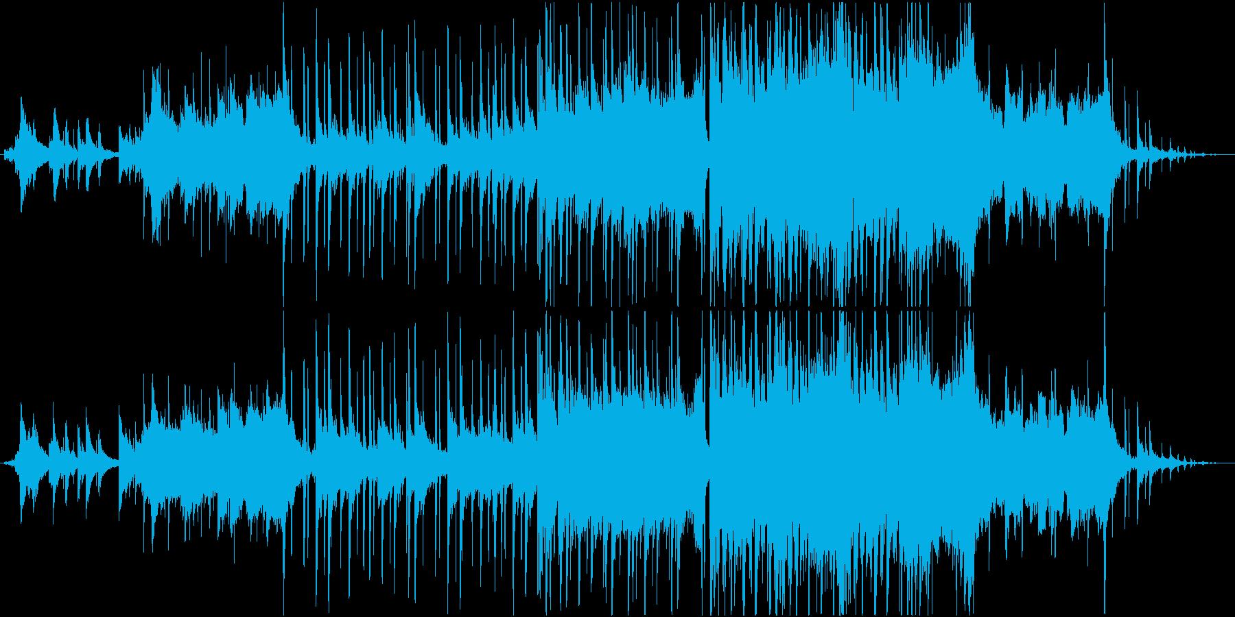どこか切ないピアノミッドバラードの再生済みの波形