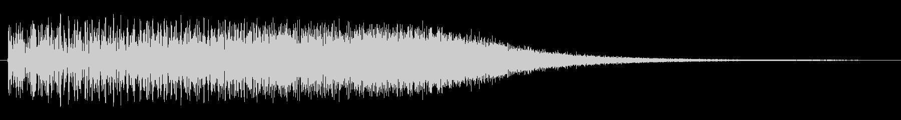 トゥルルルルルリン(場面転換向きの音源)の未再生の波形