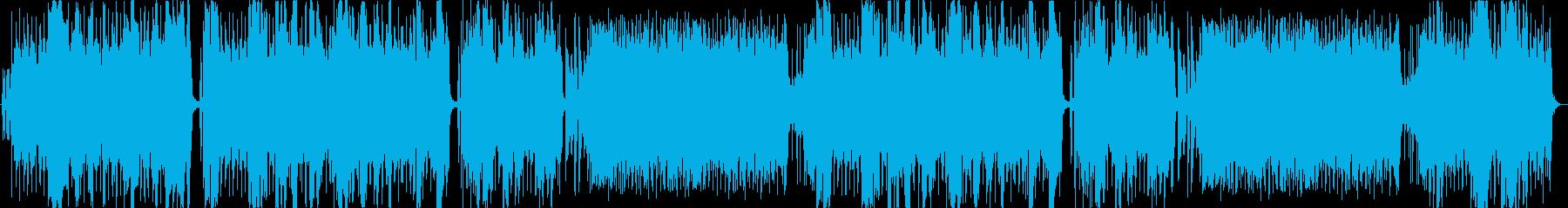 ダンスボールルーム。送信側インスト...の再生済みの波形