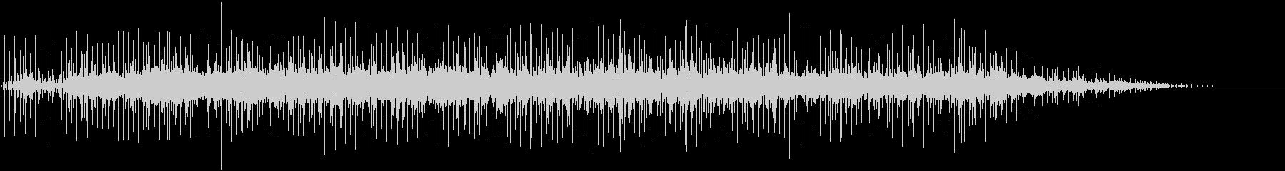 アコギによるブルースの未再生の波形