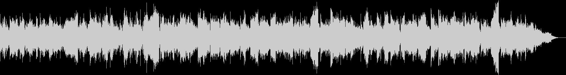 カノンコードと二胡を使った曲の未再生の波形