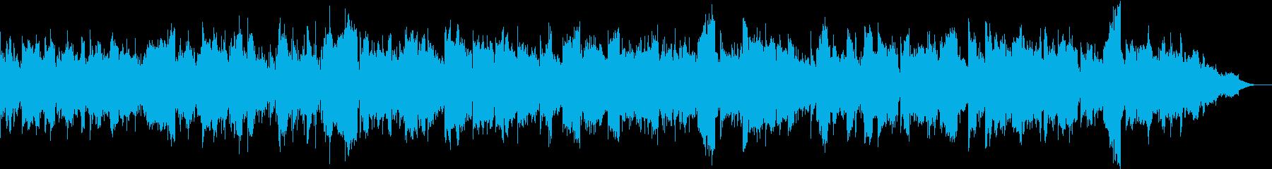 カノンコードと二胡を使った曲の再生済みの波形