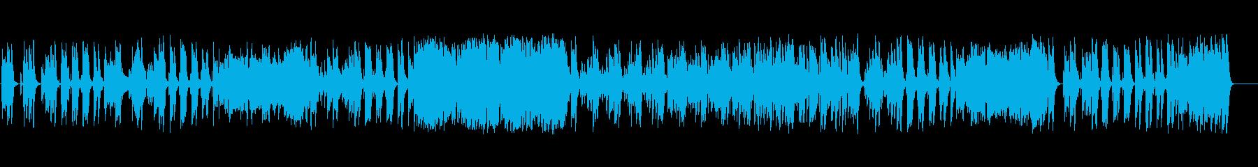 バイブ付きのオーケストラジャズチ...の再生済みの波形