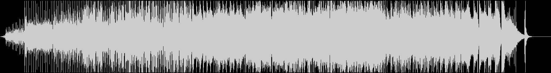 深海イメージのjazz-fusion曲の未再生の波形