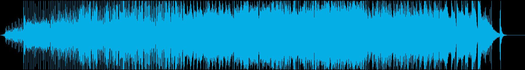 深海イメージのjazz-fusion曲の再生済みの波形