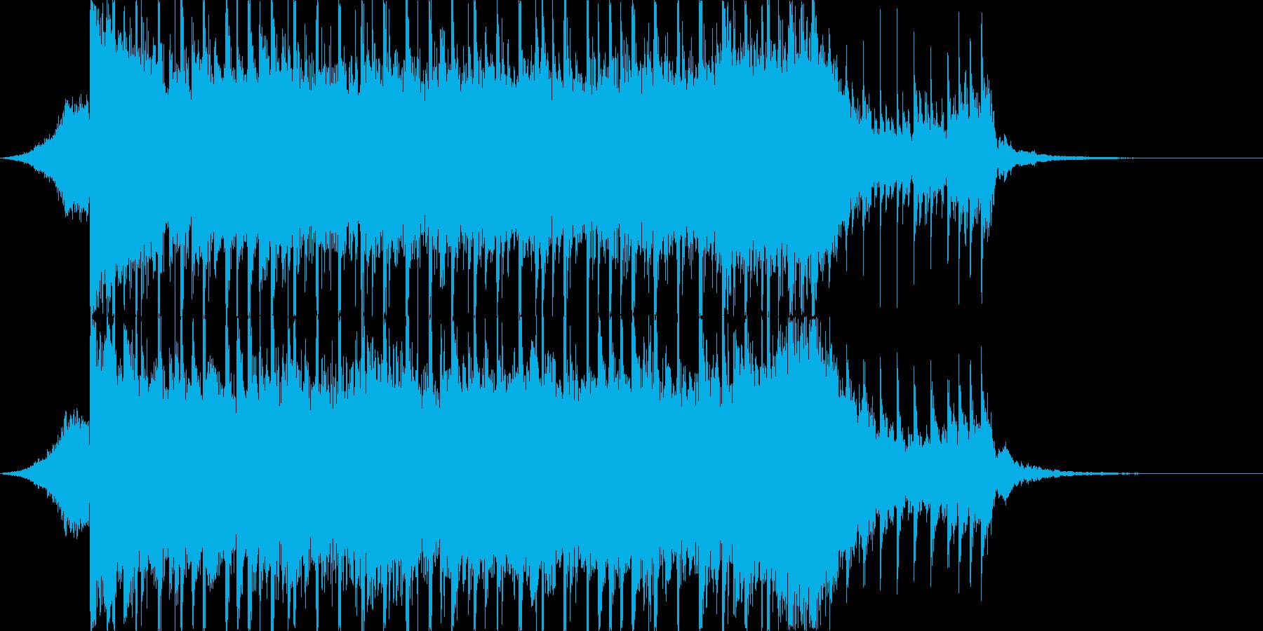 企業VP向け、爽やかポップ4つ打ち15cの再生済みの波形