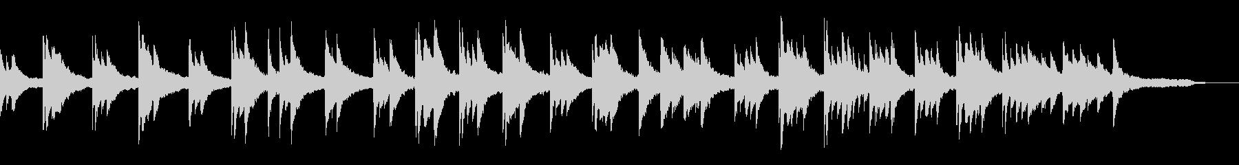 映像・ナレーション用ピアノ演奏(寂しさ)の未再生の波形