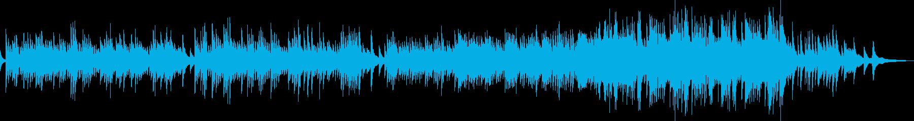 まどろみに包まれる癒しのピアノソロの再生済みの波形