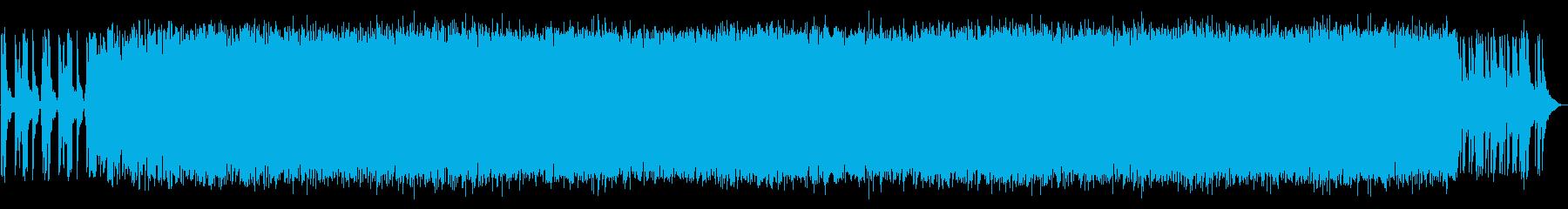 和太鼓を使ったアシッドテクノの再生済みの波形