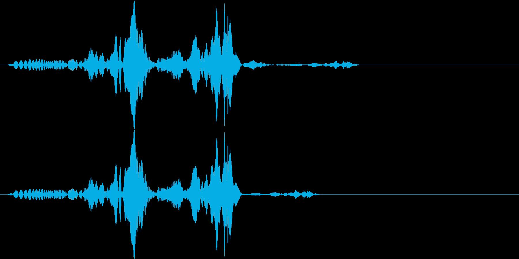 ビコ(click_041_ボタン)の再生済みの波形