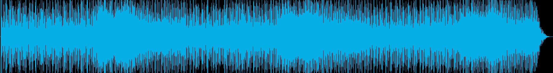 神秘的なBGMですの再生済みの波形