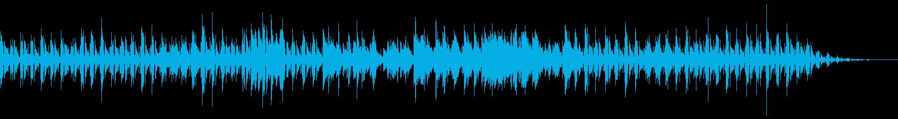 Jazzy で軽快なフュージョンの再生済みの波形