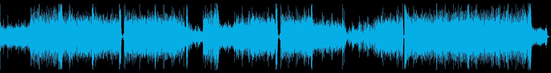 ラテン系の爽やかな4つ打ち曲です。の再生済みの波形