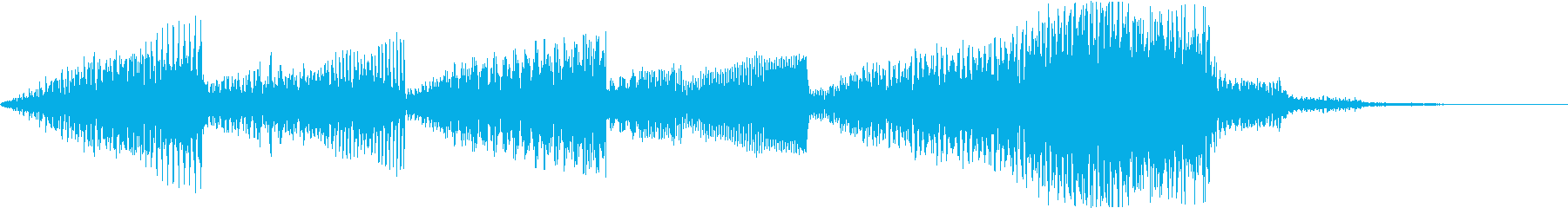 Chic and fine jingle of electronic music's reproduced waveform