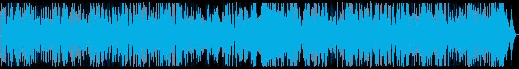 軽やかで明るいメロディのボサノバの再生済みの波形