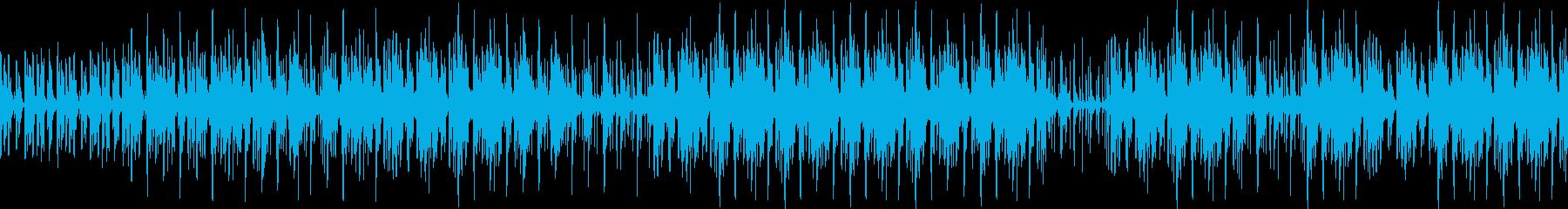 ゆったりで壮大なパーカスアンサンブルの再生済みの波形