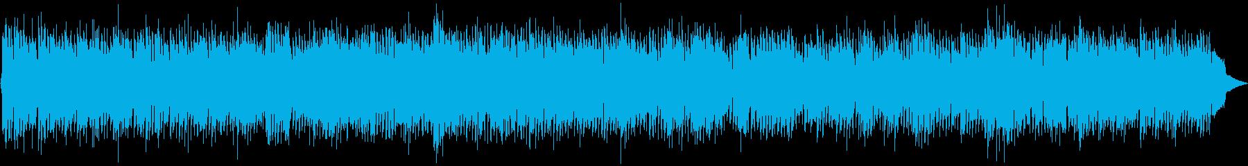周りに共感を得たいときのポップBGMの再生済みの波形