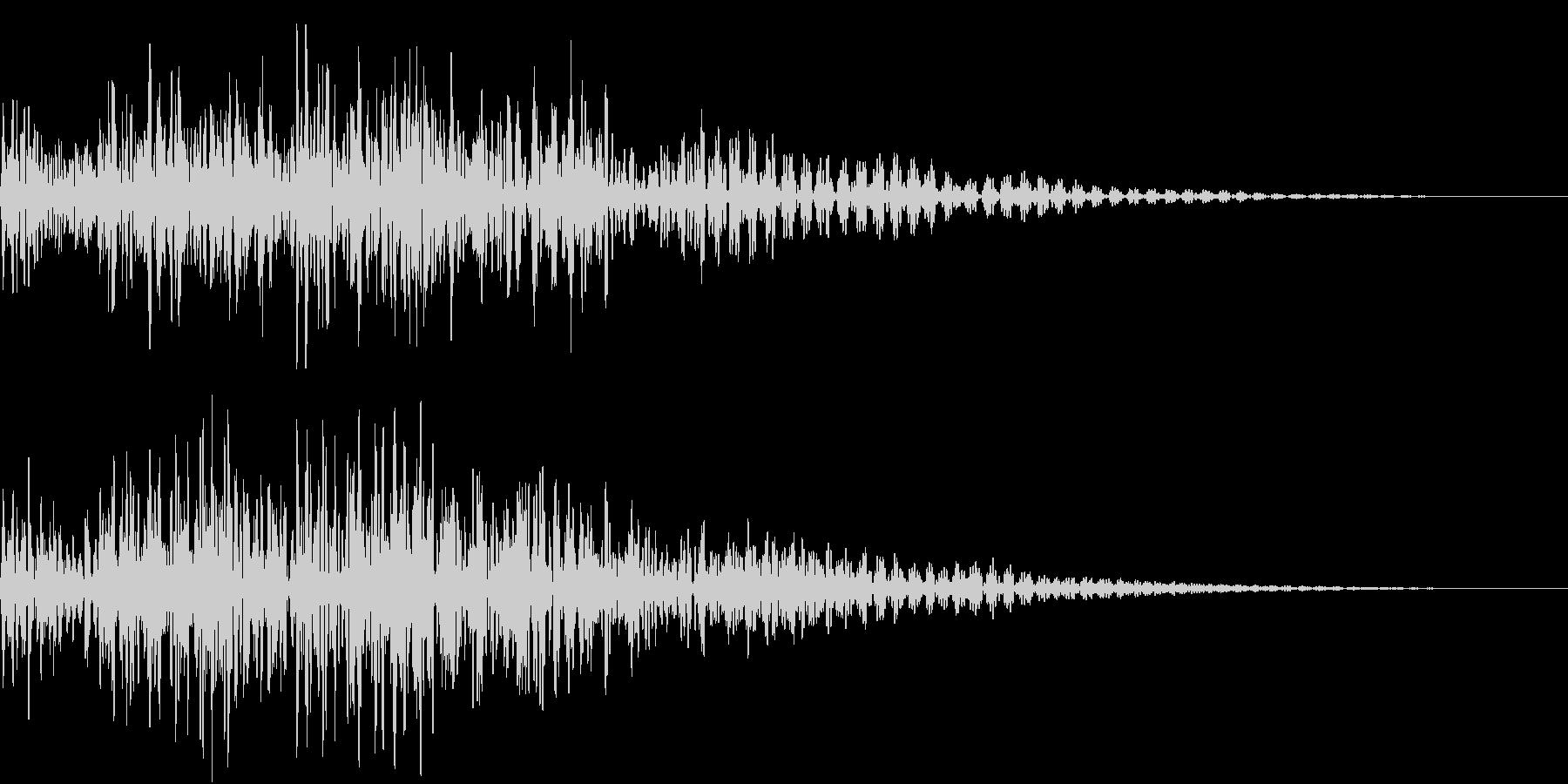 タンタタ タンタタ タン(和太鼓)の未再生の波形