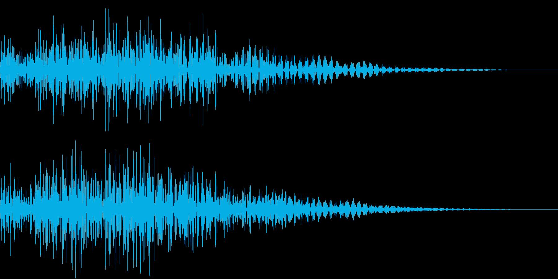 タンタタ タンタタ タン(和太鼓)の再生済みの波形