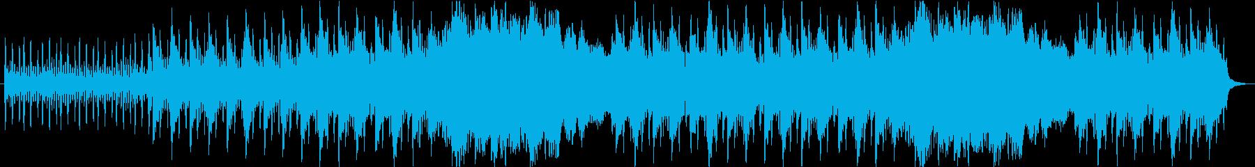 爽やかで朝にピッタリなBGMの再生済みの波形