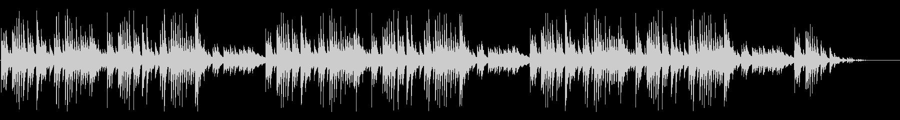 童謡「赤とんぼ」シンプルな琴のアレンジの未再生の波形
