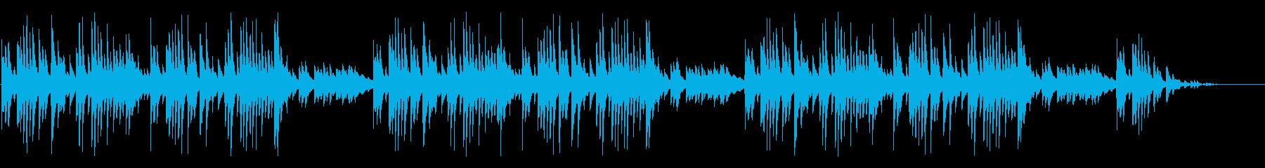 童謡「赤とんぼ」シンプルな琴のアレンジの再生済みの波形