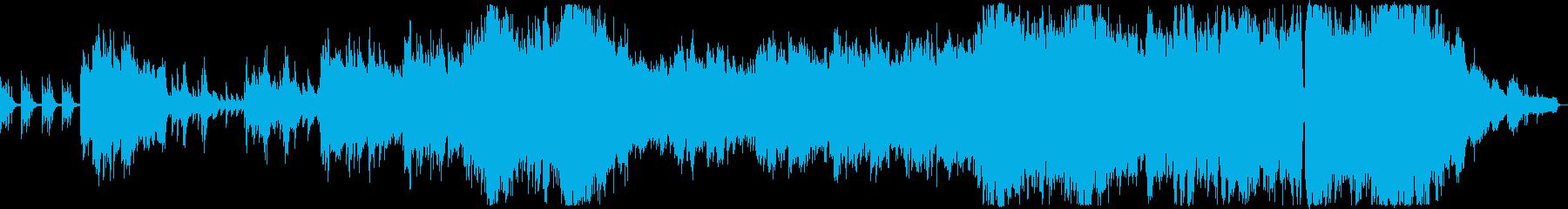 悲しみに満ちたバラード3の再生済みの波形