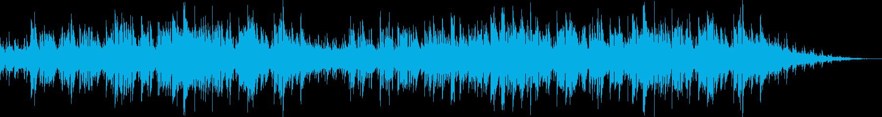 ピアノバラードの切ないラブソングの再生済みの波形
