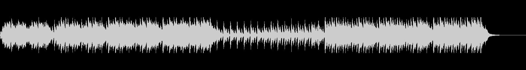 ハロウィン・おばけ系BGMの未再生の波形