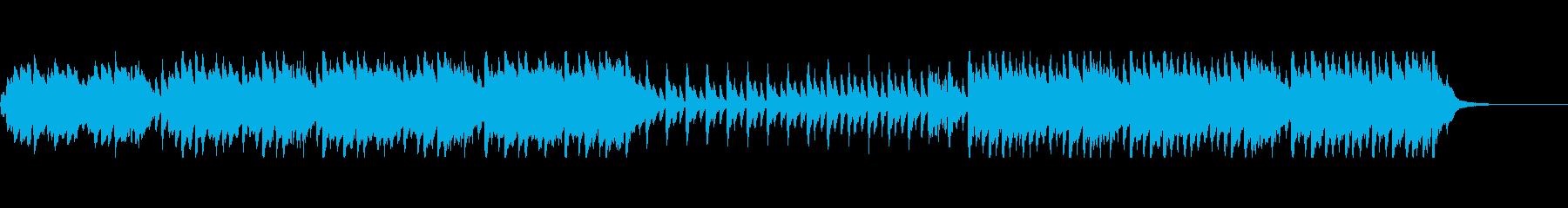 ハロウィン・おばけ系BGMの再生済みの波形