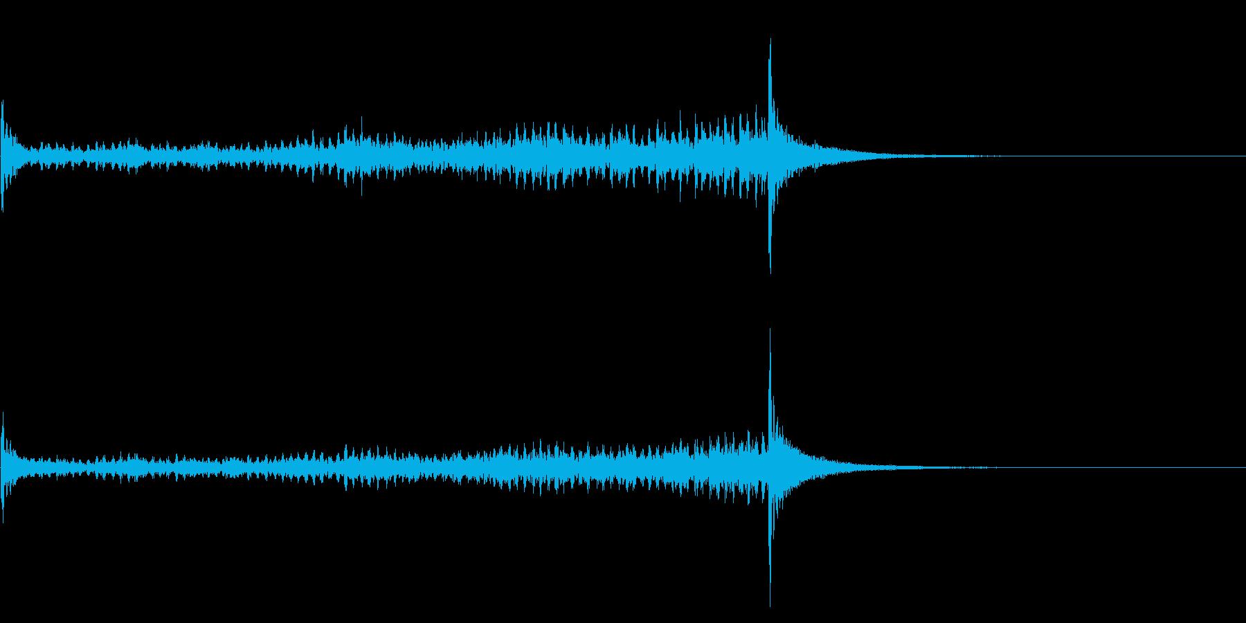 ティンパニーロール☆ロング3の再生済みの波形