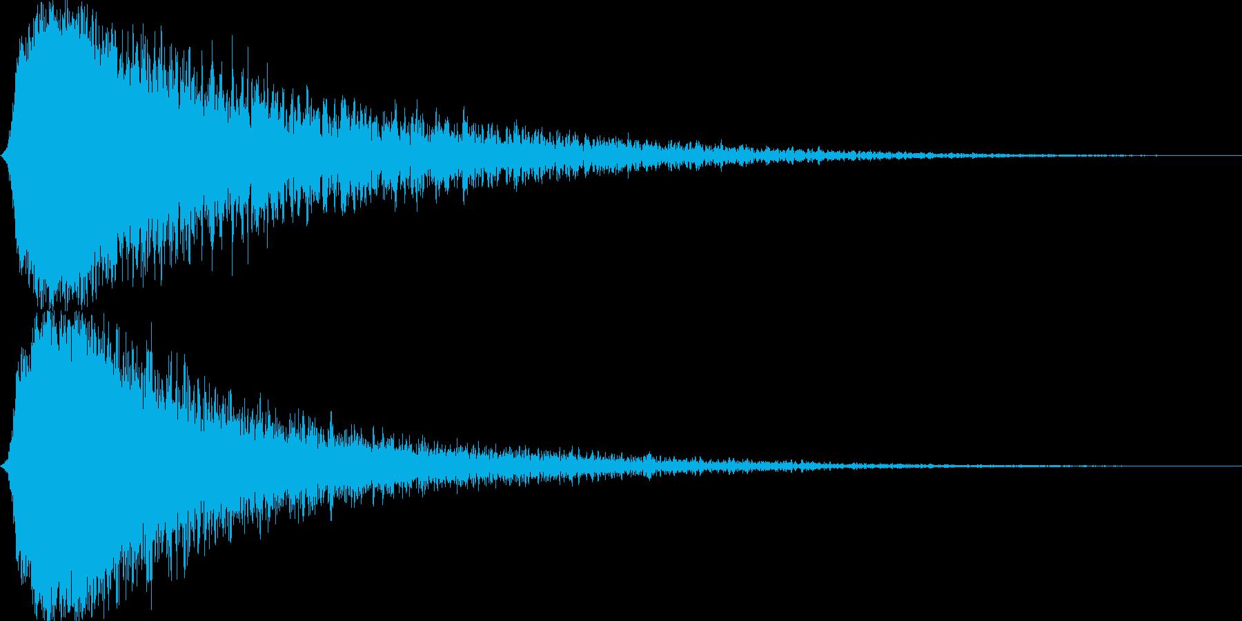 シャキーン キラーン☆強烈な輝き19bvの再生済みの波形