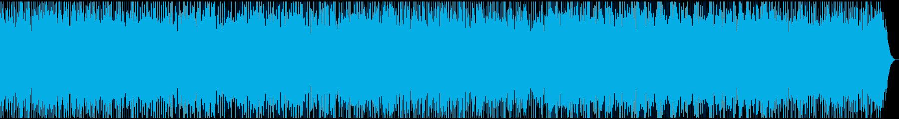 ノれて元気の出るファスト・ロックの再生済みの波形
