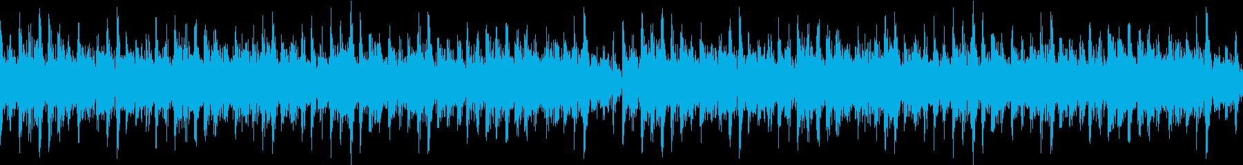 リズミカルなシンセリードが心地いいBGMの再生済みの波形