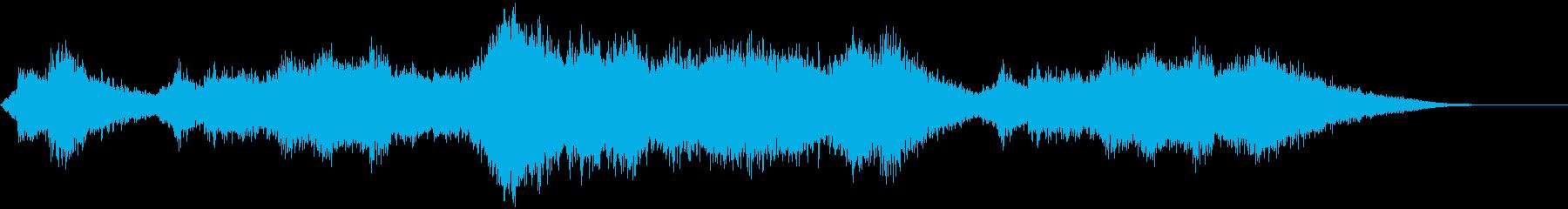微妙な色調のソフトテクスチャ微妙な...の再生済みの波形