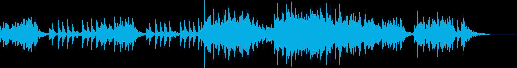 現代的 交響曲 アンビエント アク...の再生済みの波形