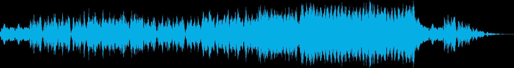 しっとりとした悲しい楽曲2の再生済みの波形