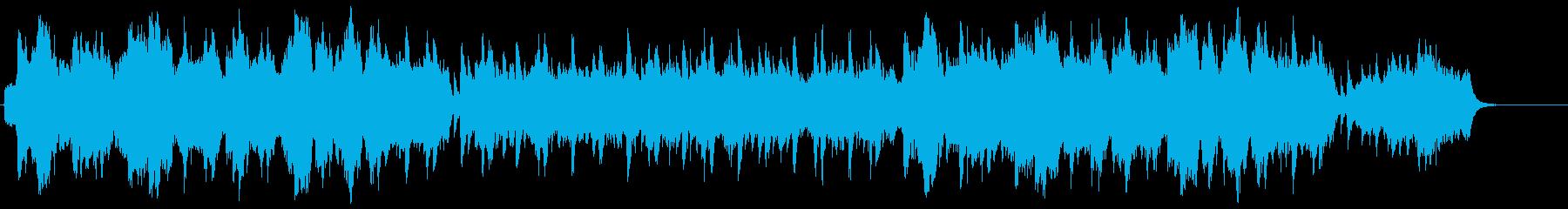 和風のおだやかな曲/琴と笛/ストリングスの再生済みの波形