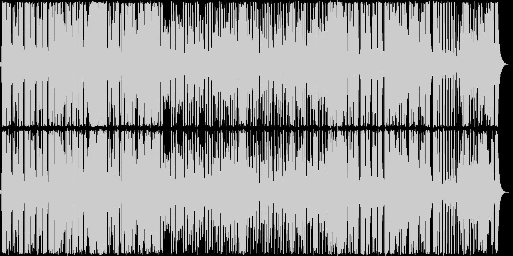 エレクトリックベースとピアノのアー...の未再生の波形