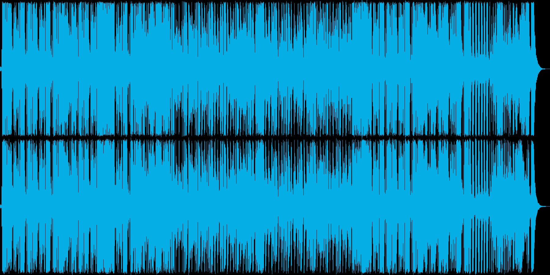 エレクトリックベースとピアノのアー...の再生済みの波形