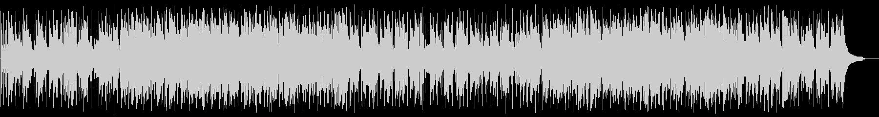 しっとりとしたバラード調の曲の未再生の波形
