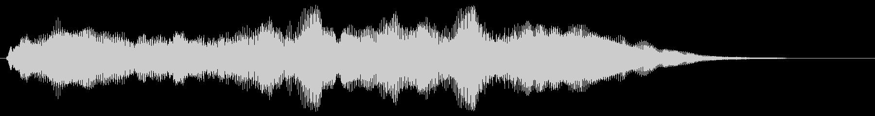 ファンファーレ シンプル版 トランペットの未再生の波形