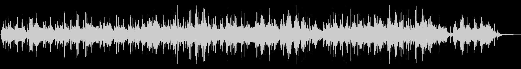 静かで優しい、叙情的なピアノBGMの未再生の波形