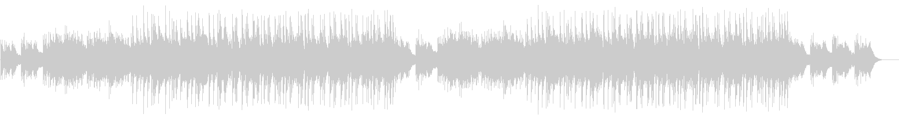 Transparent and flowing BGM's unreproduced waveform