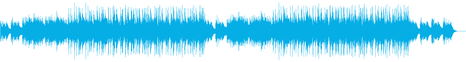 Transparent and flowing BGM's reproduced waveform