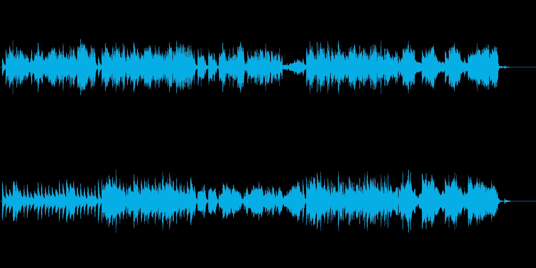 魔法 日常 ほのぼの ファンタジーBGMの再生済みの波形